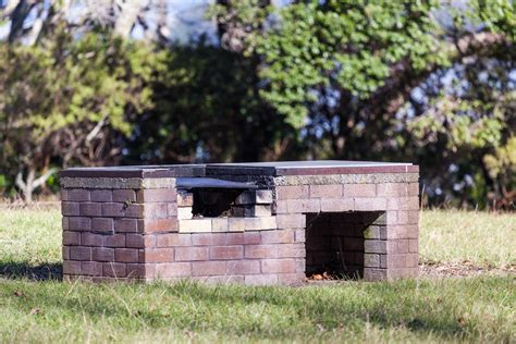 make a brick pit how to build a brick bbq pit