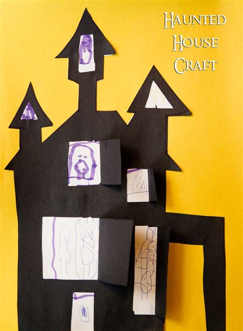 haunted house crafts for easy haunted house craft