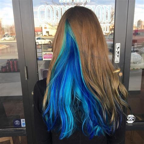 hair color inspiration geode hair trends uses dazzling crystals as hair color