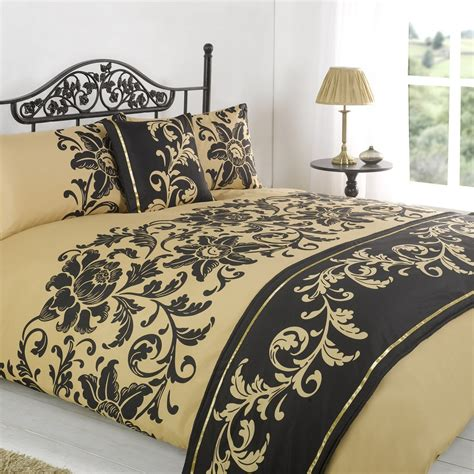 king single coverlet duvet quilt bedding bed in a bag gold single double king
