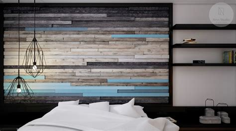 grandiose dark accent wood paneling ideas with wall lcd 44 awesome accent wall ideas for your bedroom
