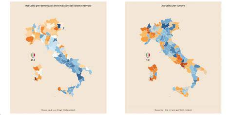 morte in cause mortalit 224 in italia la mappa delle cause pi 249 comuni