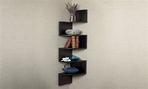 pantry shelving unit black corner shelf wall mount black