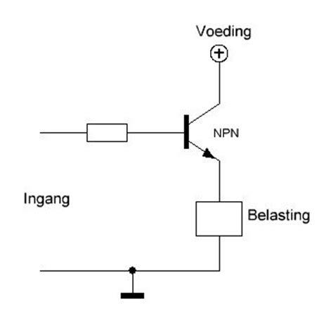 pnp transistor als schakelaar plus schakelen met fet of transistor forum circuits