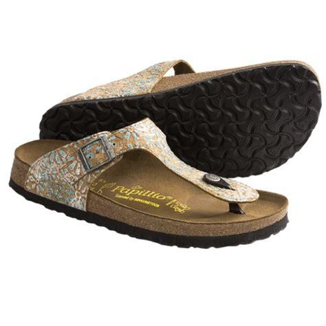 flowered birkenstock sandals papillio by birkenstock gizeh sandals for 6459k