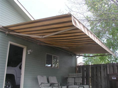 retractable awning for deck awning awning over deck