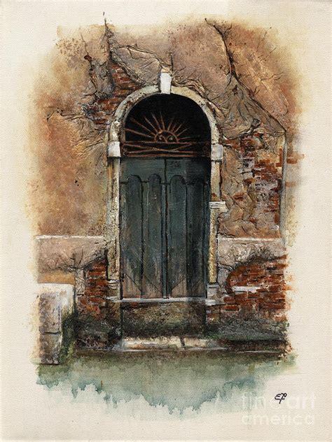venetian door 01 yakubovich painting by yakubovich