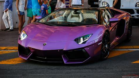 lamborghini purple purple lamborghini aventador lp700 4 roadster w capristo
