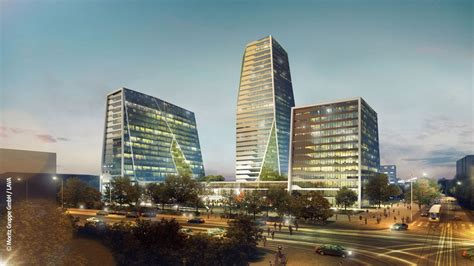 Roof Garden Design the square 3 berlin towers e architect