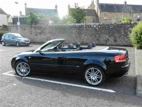 Audi A4 Cabrio S Line by Audi A4 2 0t Fsi S Line Special Edition Convertible