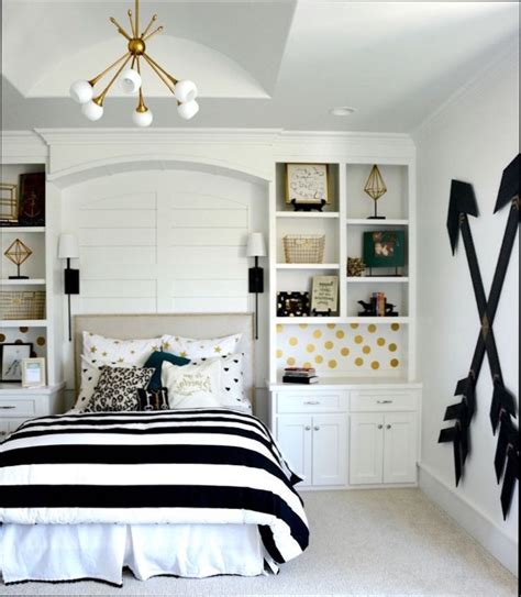 Superbe Chambre Blanc Et Noir #1: chambre-ado-fille-noir-et-blanc.jpg