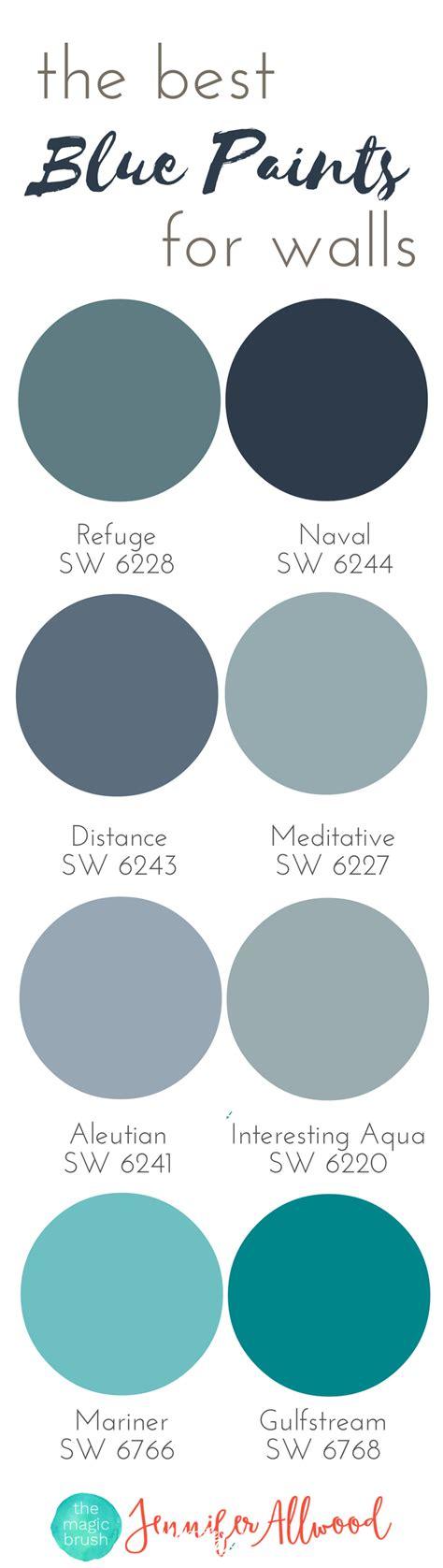 best blue paint colors the best blue paints for walls magic brush jennifer