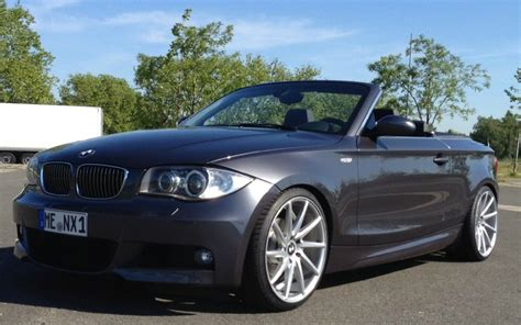 Bmw 1er Facelift Mobile by Bmw 125i Cabrio Sparkling Graphit 1er Bmw E81 E82