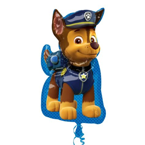 Balon Foil Paw Patrol Bolak Balik paw patrol large foil balloon sold individually flat packaged