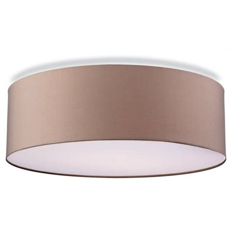 Contemporary Ceiling Lighting Contemporary Flush Ceiling Light In Taupe Finish