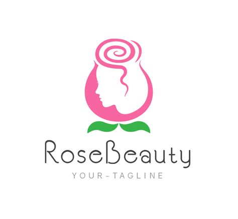 Light For Makeup Vanity Rose Beauty Parlor Logo Amp Business Card Template The