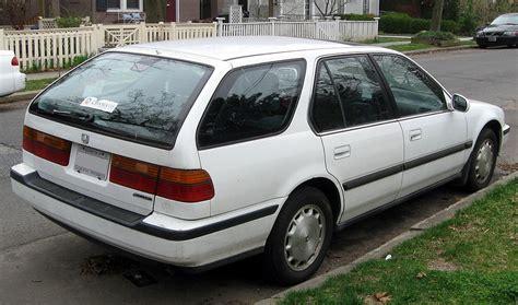 1993 honda accord ex wagon weekend edition the 1989 1993 honda accord coup 233 hooniverse