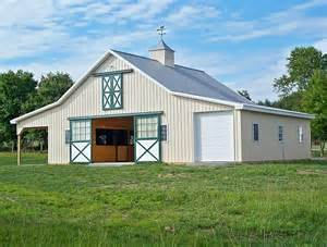 Garage Barn by Garage Horse Barn Barns Pinterest