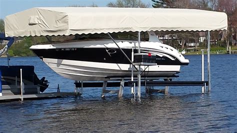 pontoon boat awnings boat pontoon and tritoon lift canopies