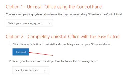 How To Uninstall Microsoft Office by Completely Uninstall Office 365 Or Office 2016 From Windows 10