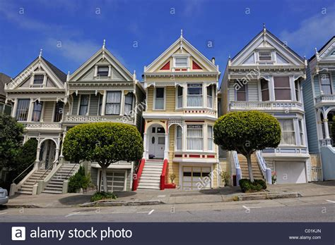 buying victorian house victorian houses painted ladies alamo square in san francisco stock photo royalty