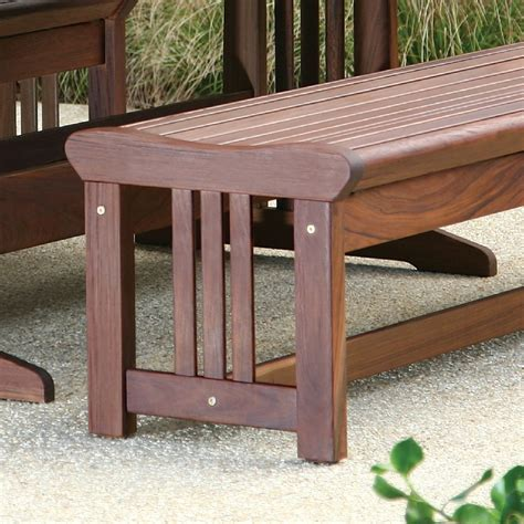 ipe bench backless ipe bench lincoln style