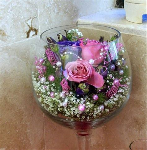 wine glass centerpiece in large wine glass wedding plans big wine glass glass