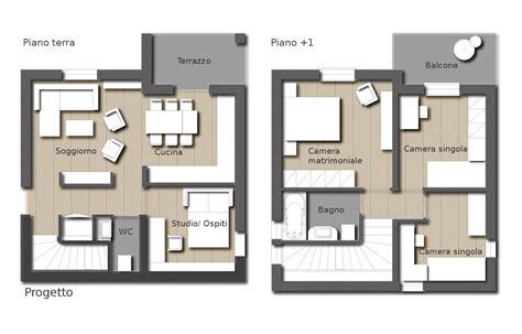 casa piani progetto casa unifamiliare due piani semplice e comfort