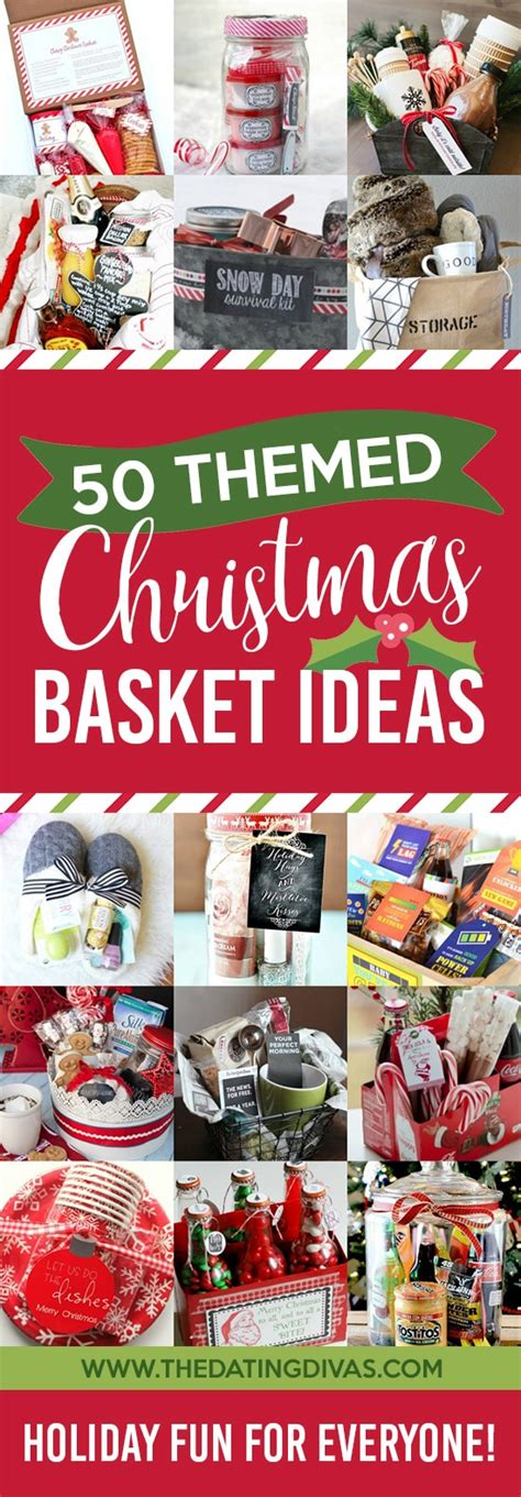 50 themed christmas basket ideas the dating divas