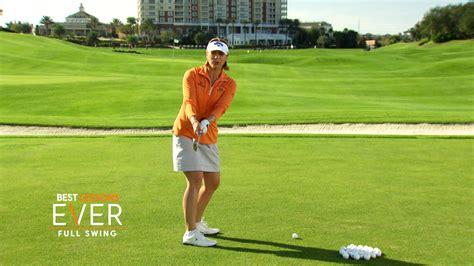 annika golf swing annika sorenstam s best full swing lesson golf channel