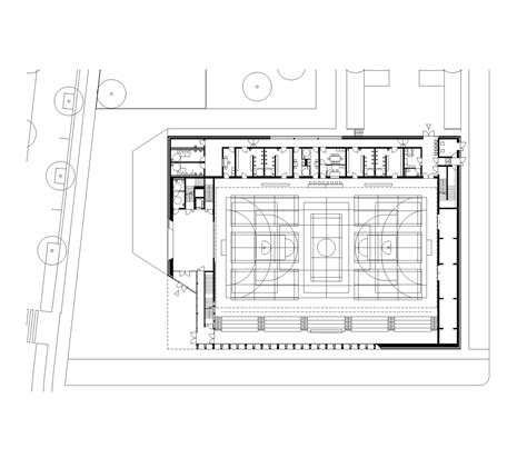 facility layout en español gallery of sports center in neudorf atelier z 252 ndel