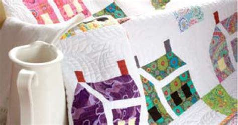 picking pattern for house that built me free pattern the house that kaffe built mini quilt by