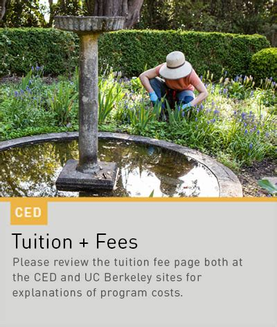 How Much Is The Application Fee For Berkeley Mba Program by Admissions Uc Berkeley College Of Environmental Design