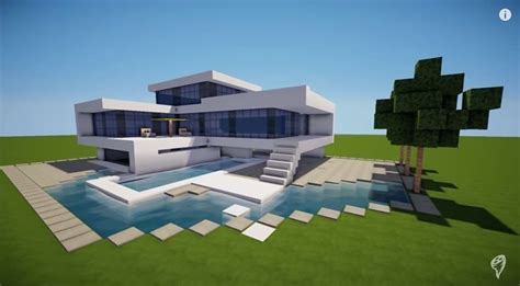 Minecraft House Tutorial Step By Step by How To Build A Modern House Best Modern House 2013 2014