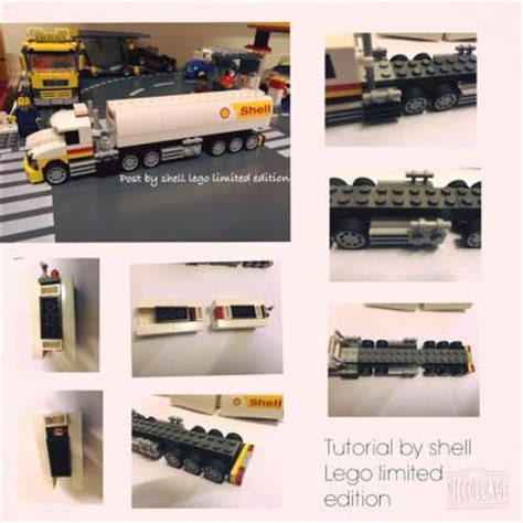 2015 Shell Lego Crossover Garage Display For Sales Onl wts 2015 shell lego fuel tanker 40196
