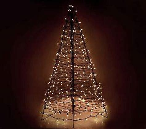 pre lit fold flat 5 outdoor christmas tree lori greiner 3