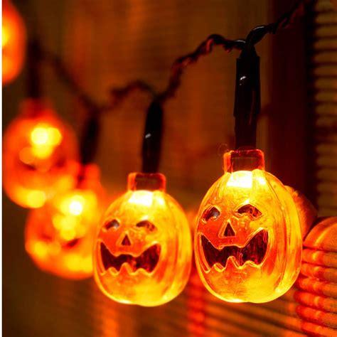 pumpkin lights pumpkin battery string lights by garden