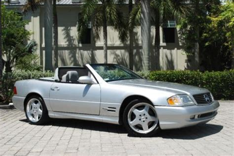 buy used 2000 mercedes benz sl500 sport roadster 5.0l v8