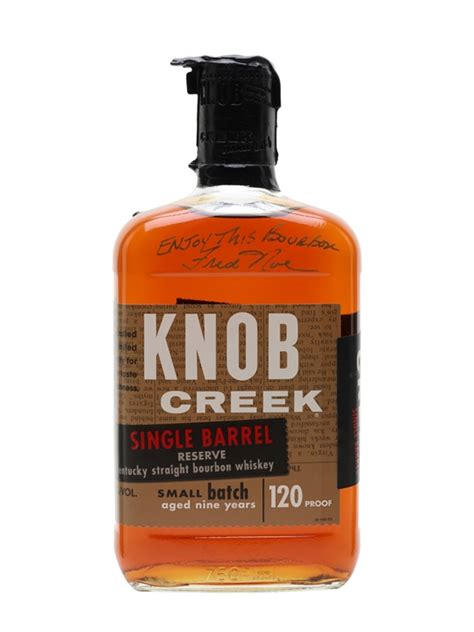 Knob Creek Bourbon by Knob Creek Single Barrel Reserve 9 Year Buy