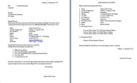 format surat lamaran pekerjaan dan cv cara mendaftar akun gmail contoh surat lamaran kerja dan cv