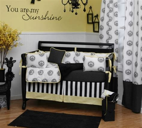 Black And White Baby Crib Bedding Black And White Baby Bedding Type Pictures