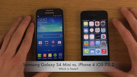 galaxy s4 vs doodle 2 samsung galaxy s4 mini vs iphone 4 ios 7 0 2 which is
