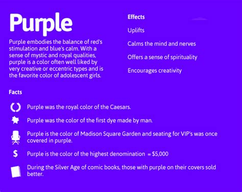 what is the meaning of the color purple purple daily dose