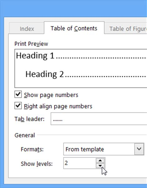 how do you add a contents page in word 2010 how to create a table of contents in word 2010 change or add levels in a table of contents word