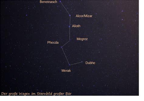 kleine wagen sternbild sternbilder selbst geknippst