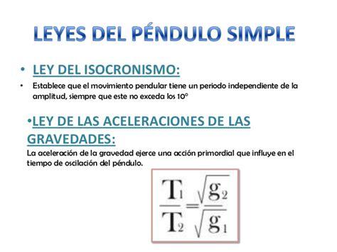 oscilacion fisica formulas movimiento arm 243 nico simple y pendulo simple