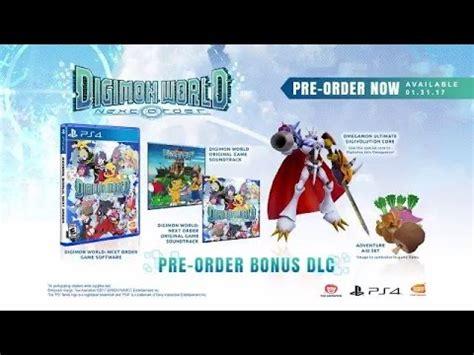 Kaset Ps4 Digimon World Next Order digimon world next order story trailer ps4