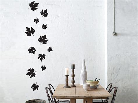 ferm wall stickers vinyl wall sticker falling leaves by ferm living