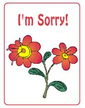 Sorry Card Template by I M Sorry Free Printable Greeting Cards Template Apology