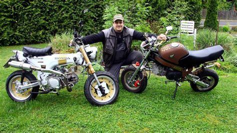 Motorrad Honda Treffen by Meinhardsee Freunde Honda Dax Und Monkey Treffen Sich